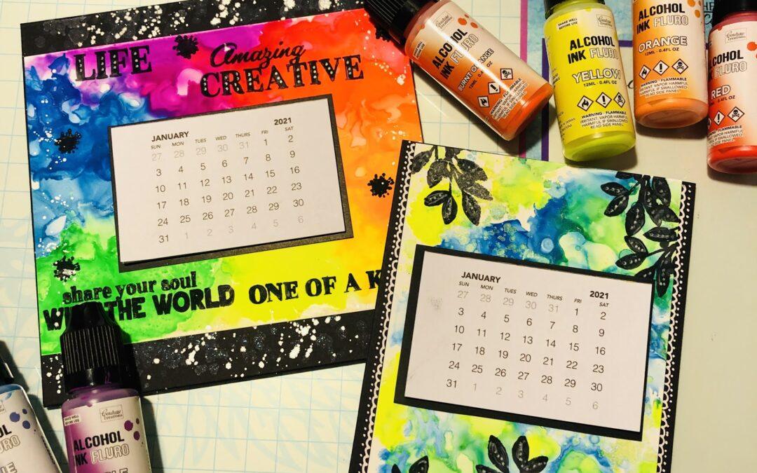 Desktop Calendars with Adriana