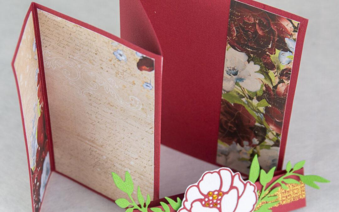Fun Folding Card with Anet