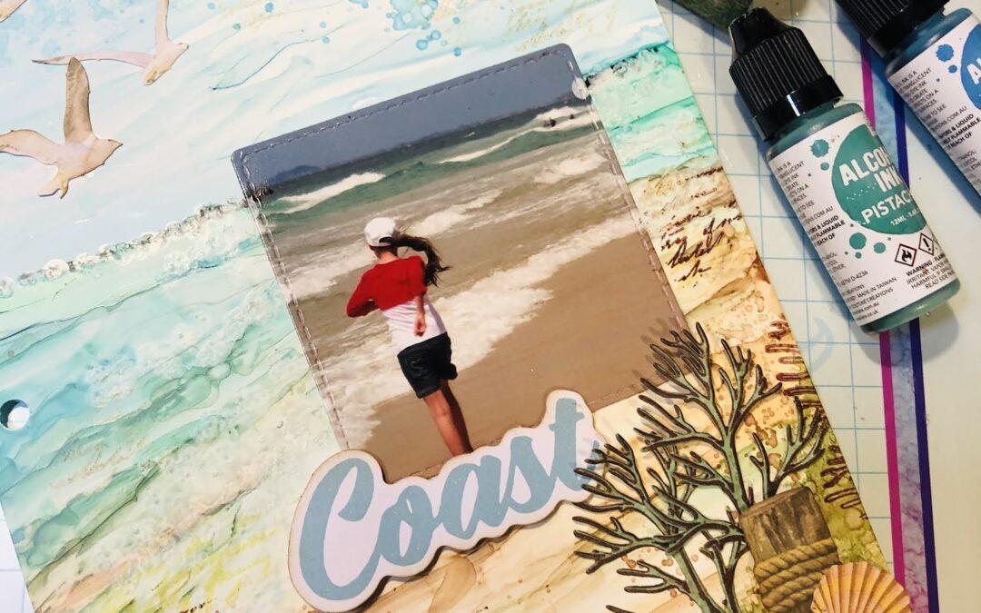 Coastal Journal Page with Adriana