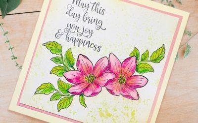 Joyful Card with Adriana