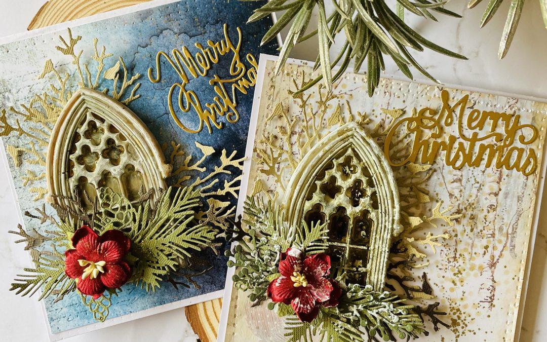 Winter Scene Christmas Cards with Adriana
